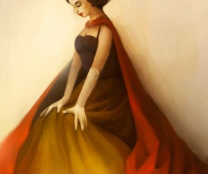 Biancaneve, drawings, and snow white image