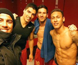 neymar, suarez, and messi image