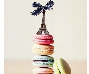 paris, food, and macaroons image