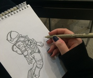 draw, sketch, and space image