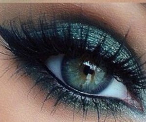colors, eyeliner, and eyes image