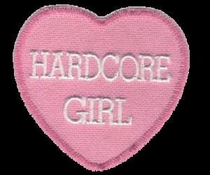 girls, grunge, and heart image