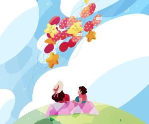 connie, steven universe, and steven birthday image