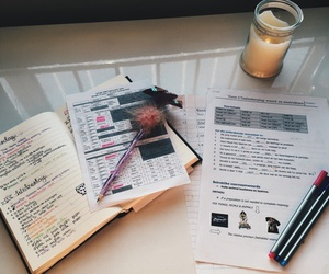 notes and studying image