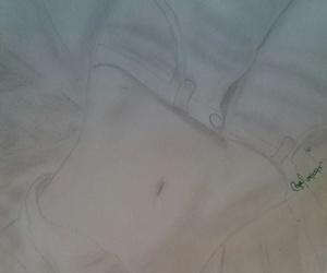 body, sketch, and drawing image