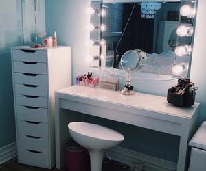 decor, lights, and makeup image