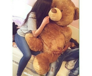 couple, teddy, and love image