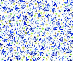 pattern and flower image
