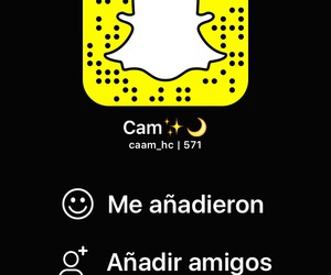 follow me, srsly, and snapchat image