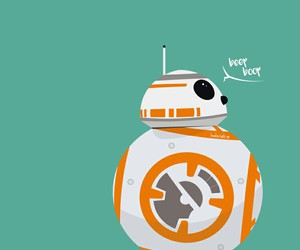 bb-8, sw, and the force awakens image