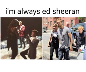 ed sheeran, funny, and lol image
