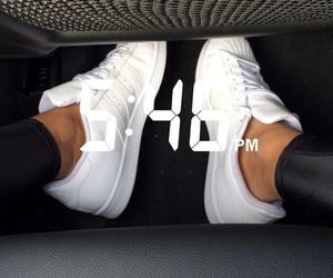 shoes, adidas, and nails image