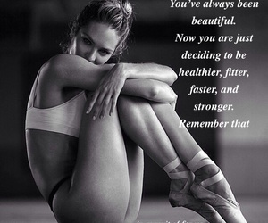 confident, fit, and beautiful image