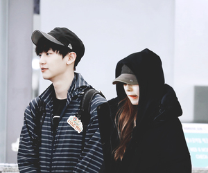 couple, exo, and red velvet image