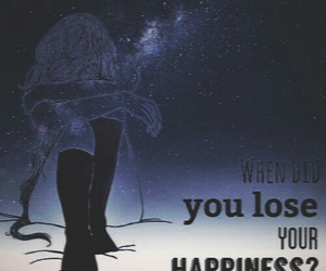 ?, happiness, and broken home image