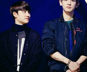 chanyeol, exo, and chansoo image