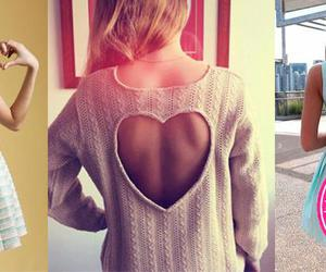 blouse, girl, and look image