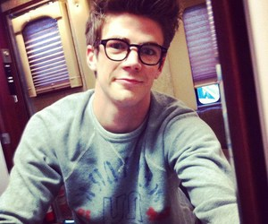 grant gustin, the flash, and boy image