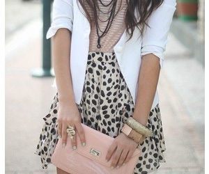 girl, leopard, and outfit image