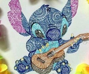 drawing, stitch, and art image