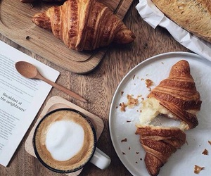 breakfast, cappuccino, and morning image