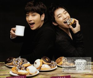 2PM, chansung, and food image