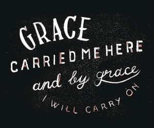 grace, quote, and christian image