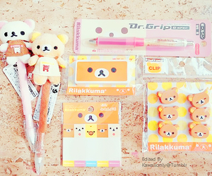 rilakkuma and kawaii image