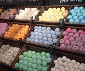 aroma, bath bombs, and vegan image