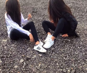 adidas, friends, and bff image