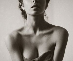beautiful, breast, and girl image