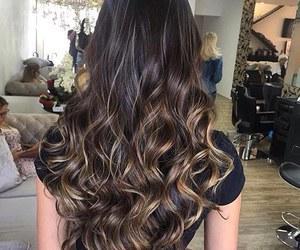 beautiful, boho, and curly hair image
