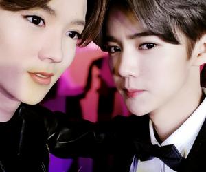 luhan, exo, and sehun image