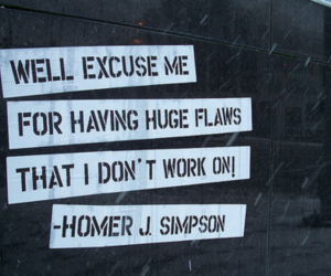 text and homer image