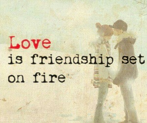 love, quotes, and friendship image