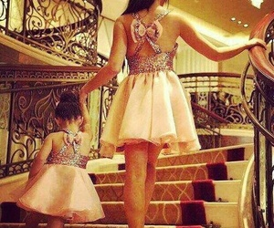 daughter, dress, and fille image