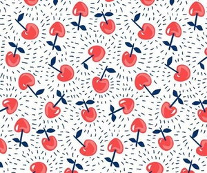 cherry, wallpaper, and red image