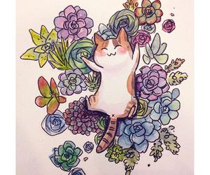 Animales, cat, and dibujos image