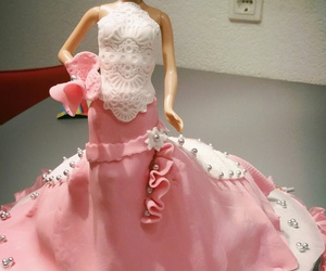 barbie, cake, and fondant image