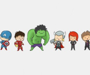 hawkeye, Hulk, and thor image