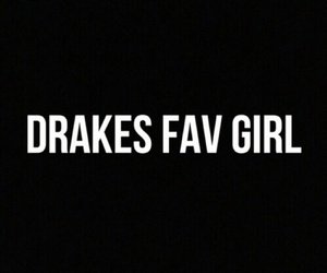 black, Drake, and girl image