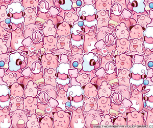 pink, pokemon, and cute image