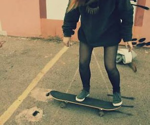 girl, obey, and skate image