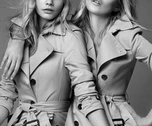 kate moss, Burberry, and model image
