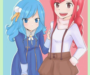 fairy tail, erza, and juvia image