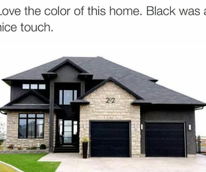house, black, and goals image