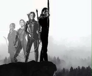 the hunger games, hunger games, and mockingjay image