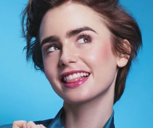 lily collins, lancome, and lily image