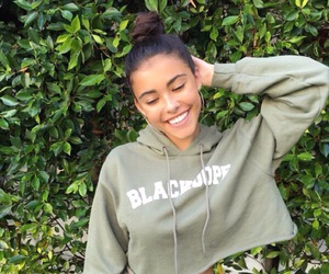 madison beer, green, and smile image