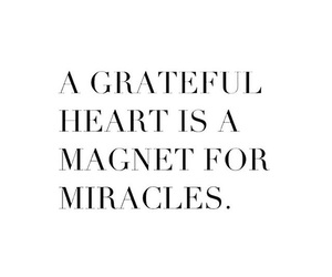 be, grateful, and heart image